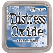 Tim Holtz Distress Oxide Ink Pad - Faded Jeans - TDO55945